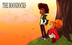 The Boondocks: Huey, Jazmine by sukreih