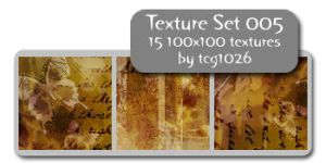 Texture Set 005 by tcg1026