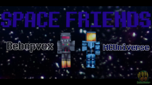 Space Friends with MCUniverse and Bebopvox by Deku-Gamer-DA