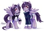 MLP: Abby and Zack by Pink-Angel-Kitty