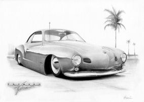 Slammed Ghia by Boss429