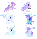 Pastel Ponies AUCTION CLOSED EARLY! by Jahpan