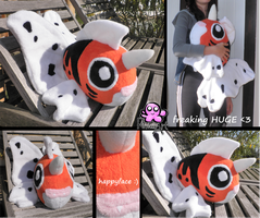 Seaking plush by PinkuArt