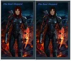 The Real Commander Shepard by AgentAlpha