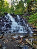 Ricketts Glen State Park 14 by Dracoart-Stock
