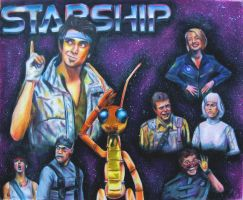 Starship by Morganellie