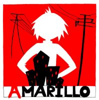 Amarillo by Gorillaz 'CD Cover' by AnneyBaker