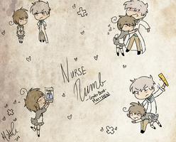 Nurse Numb -GB- Sketches by Pocketwatch-Prince