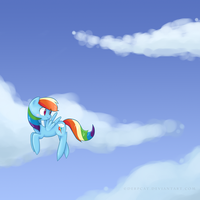 Rainbows in The Sky by DerpCat