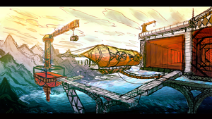 Victorian floating city 2 by aperson4321