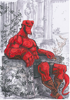 Hellboy by Ultrafpc