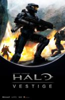 Halo: Vestige Cover Art by Kakkay