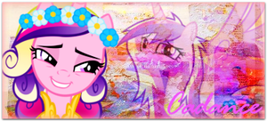 Cadance sygnatura by DixieRarity