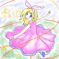 Kagamine Rin-Freedom by CluelessCloud