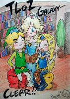 Zelda Galaxy :BONUS SHOT: XD by Derochi