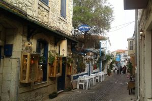 Alacati streets by galopper