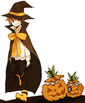 i'll make a pumpkin out of you by tokoco