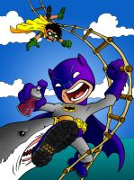 Shark Repellent Bat-Spray 2.0 by beastgrinder