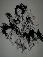 Samurai Champloo by idiotxcrossing656