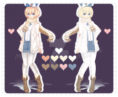 | Point Auction | Adopt 1  [CLOSED] by OhMaiiAdopts