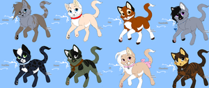 FREE Adoptable Kittens CLOSED by NaminaQueenofDemons