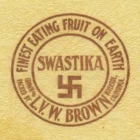Swastika Fruit Wrapper by fotocali