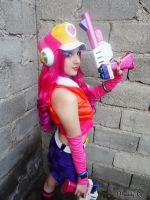 Miss Fortune Arcade Cosplay - League of Legends 5 by MelodyxNya