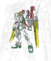 gundam altron MG by gilbert86II