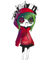 Matryoshka Gumi -alt colour- by tearzahs