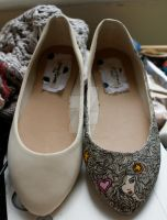 Hand Painted Shoes - Girly by SteamPoweredFish