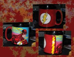 Flash Mug by hawthehaw