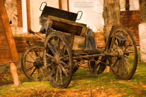 An Old Coach by Maeja
