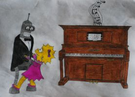 Dancing to the tune of a old Pianola by GladiatorRomanus