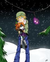 Standing in the Snow by Tetra-hime