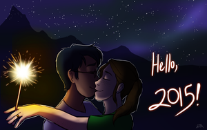 Say Hello to 2015 by Blairaptor