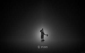 pyro (black and white) by aleixoteixeira