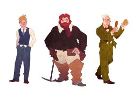 Character Designs by JaimePosadas