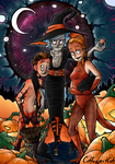 Halloween Bitches by Enigmar