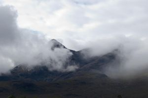 Cloud over Cuillins by CitizenJustin
