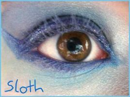 7 Deadly Sins Makeup: Sloth by Steffmiesterx13