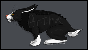 Rabbit Monster Adopt - SOLD by Artha-Demon