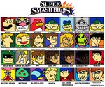 SSB Dream Roster by HoppyBadBunny