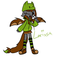 Anthro Larissa by 0ColorPaint0