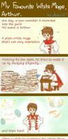 My Favourite White Mage, Arthur (comic strip) by icy-ciel