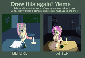Quill - Meme - Before and After by Aramande