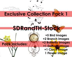 Exclusive Collection Pack 1 by SDRandTH-Stock