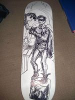 ROBIN skateboard deck 02 by ztenzila