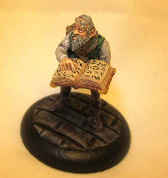 Bast the Scholar by Witchwater