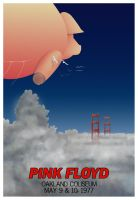 Pink Floyd Tour Poster '77 by cpricecpa