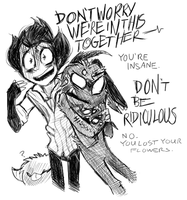 [Fanart] Don't be ridiculous by DarkFoxProductions